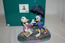 Walt Disney Classic Wdcc Donald Daisy Duck Looks Like Rain Fantasia 2000 Figure