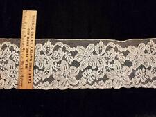 Vintage/Antique Ecru Lace 3 1/3 Yards