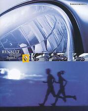 Prospekt Renault Twingo Soleil 2002 Autoprospekt 1 02 brochure Sondermodell PKWs