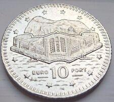 RARE GIBRALTAR 2001 10p COIN  EUROPORT COIN HUNT