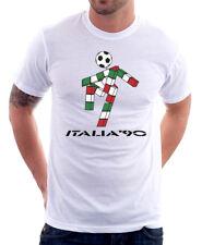 COPPA DEL MONDO ITALIA 90 CIAO MASCOTTE Cotton T-shirt teecafe 01347