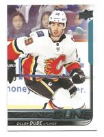 18-19 Upper Deck Series 1 Dillon Dube Young Guns Rookie RC #207 CALGARY FLAMES
