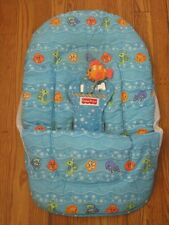 Fisher Price Open Top Take Along Swing Replacement Seat Cover - Aquarium C1384