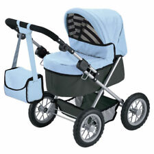 Blue Doll Prams