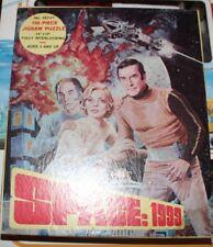 "VINTAGE SPACE 1999 1970's 150 PCS JIGSAW PUZZLE 497-01 14""X10"" HG TOYS INC NY"