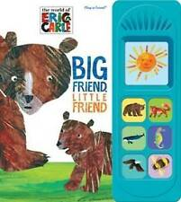 The World of Eric Carle: Big Friend, Little Friend: Play-a-Sound-ExLibrary