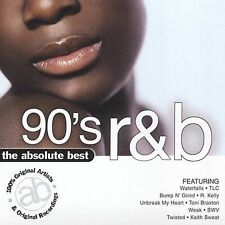 The Absolute Best 90's R&B by Various Artists (CD, 2005, BMG Special Products)