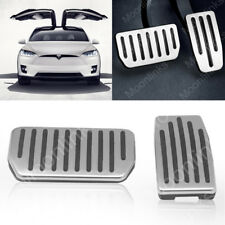 Non-Slip Gas Brake Pedal No Drill Foot Pedals Pads for Tesla Model S and Model X