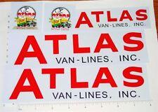 Buddy L Atlas Van Lines Semi Truck Sticker Set   BL-141