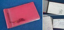 Persönliches Erinnerungsbuch 1936; 11 historische Bleistiftzeichnungen