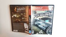 Need For Speed Most Wanted (Sony Playstation 2 ps2)