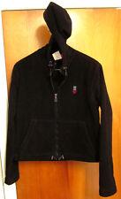 ESPRIT USA vintage juniors XL fleece hooded sweatshirt 1980s hoodie polyester OG