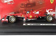 Hotwheels BCK16 Ferrari F138 Fernando Alonso 2nd Formula 1 2013 1:43
