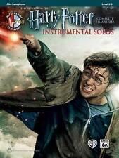 Harry Potter Film Series Instrumental Solos For Alto Saxophone, Book & CD