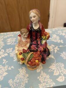 royal doulton Miniature Street Vendors (The Little Mother )