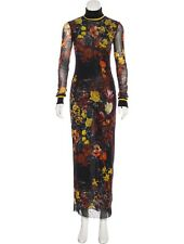 STUNNING, SOLD OUT, JEAN PAUL GAULTIER MESH FLORAL MAXI DRESS