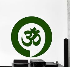 Wall Vinyl Decal Namaste Yoga Zen Meditation Enso Enzo For LIving Room z3879