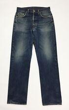 Cotton belt jeans usato uomo gamba dritta w33 tg 47 blu boyfriend vintage T4070