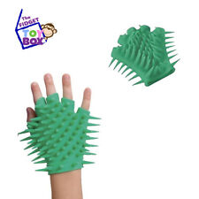 GREEN Spiky Glove sensory toy autism stress anxiety occupational therapy supply