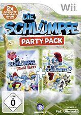 Die Schlümpfe Party Pack (Dance Party+ Teil 2) für Wii
