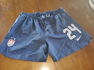 USWNT Nike official match shorts version worn by players #24 size L