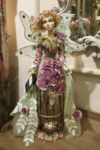 Katherine´s Collection Blumenfee Elfe Gartenfee Schmetterling Käfigfigur 65cm