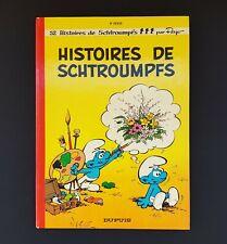ALBUM BD EO HISTOIRES DE SCHTROUMPFS DUPUIS 1973 EXCELLENT ETAT