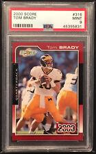 2000 Score #316 Tom Brady Rookie Rc PSA 9