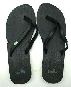 Sanuk Damen Yoga Spree Strand Wasser Riemen Sandalen Zehentrenner Schuhe US 9 Eu