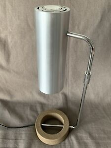 HABITAT VINTAGE TANGOLA TABLE DESK LAMP LIGHT MID CENTURY DESIGN CAST IRON ALUM