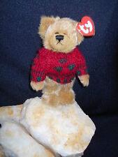 "Ty, Inc. Attic Treasures Collectibles -1/2 Dozen (6)- ""BEARKHARDT"" - The Bear"