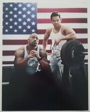 Mark Wahlberg Signed Pain And Gain 11x14 Photo Weightlifting The Rock LEGEND RAD