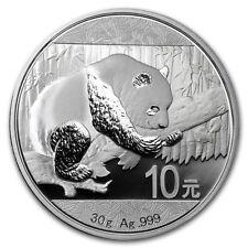 New 30 Gram 2016 Chinese Panda .999 Silver coins 1oz.