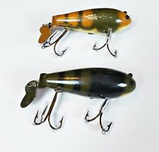Pair Of Creek Chub #300 Crawdad Lures