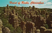 "*Arizona Postcard-""Heart of Rocks"" /Chiricahua Nat'l Monument/ (U1-AZ6)"
