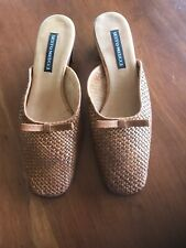 Sesto Meucci Italy 6 M  Woven Leather Mules Flats