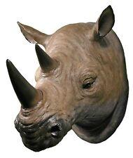 Rhino Head / Trophy / Bust / Wall Art / great for kids Bedroom wall decoration