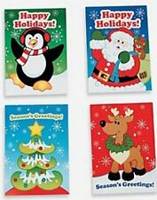 Pack of 12 - Christmas Mini Holiday Fun And Games Activity Books