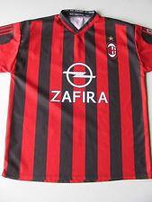 AC Milan Maldini #3 Zafira  Home Soccer Football Jersey Italy  Men's L-XL  APZ37