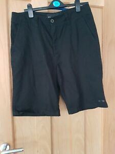 """Oakley Mens Black Shorts Size 34"""" Waist Used Condition  ( T)"""