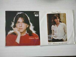 2 dischi GIANNI TOGNI SEMPLICE MA PERDIO LUNA CHISSÀ SE MI RITROVERAI 45 GIRI LP