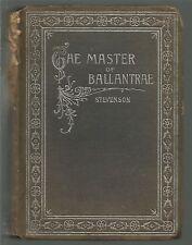 The Master of Ballantrae A Winter's Tale Robert Louis Stevenson HC E A Weeks
