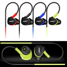 Waterproof Earphones In Ear Earbuds HIFI Sport Headphones Bass Headset with Mic