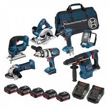 Bosch 18 volts sans fil li-ion 7 piece 4.0 Ah Kit bos18vkit10