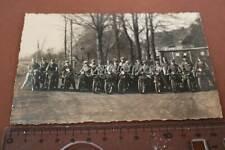 tolles altes Foto -  Gruppenfoto Motorradfahrer - Oldtimer - Gronau i.W.  20-30e
