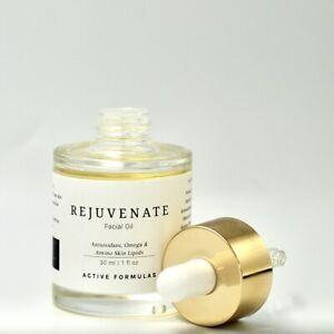 Rejuvenate Facial Oil, Antioxidant, Omega and Amino Skin Lipids.