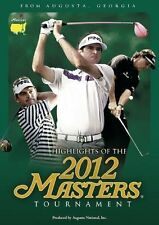 HIGHLIGHTS OF 2012 US MASTERS TOURNAMENT DVD GOLF BUBBA WATSON LEE WESTWOOD