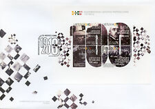 More details for lithuania 2018 fdc modern lithuanian institutions 4v m/s cover military stamps
