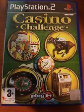 CASINO CHALLENGE - PLAYSTATION 2 PS2 USATO