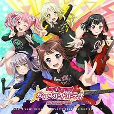 Bang Dreami! Girls Band Party! Cover Collection 2 - Game Music (2019, CD NIEUW)